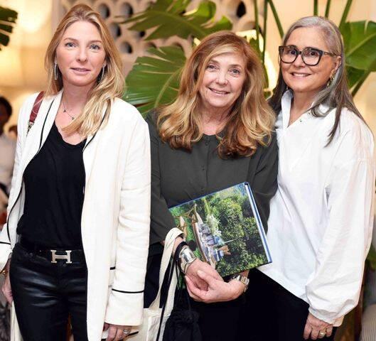 Fabiana Protásio, Eva Reich e Lúcia Sauer