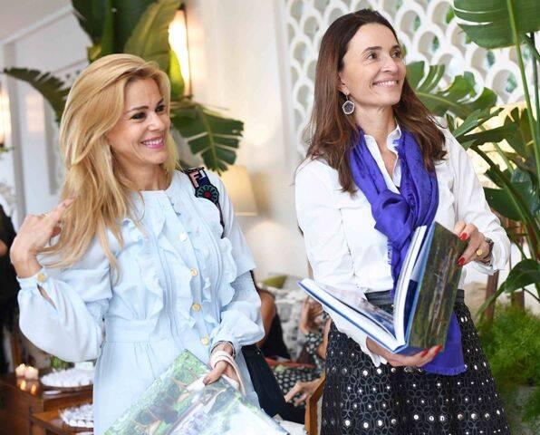 Manoela Ferrari e Andréa Natal