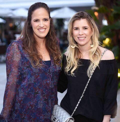 Maria Antônia de Orleans e Bragança e Renata Abreu