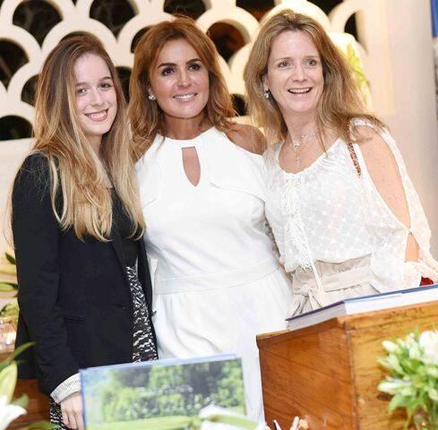Vitória Guitton, Eliane Teixeira e Beatriz Guitton