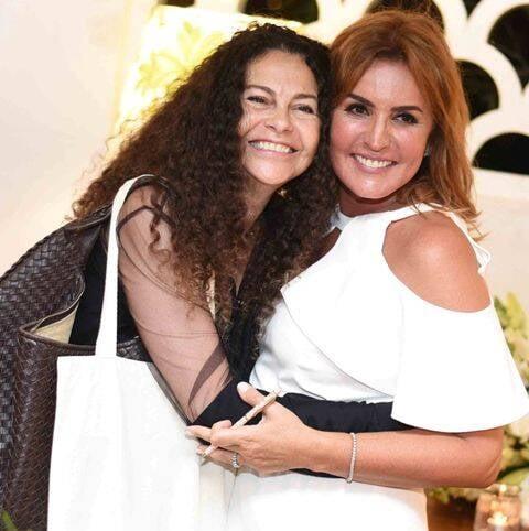 Yara Figueiredo e Eliane Teixeira