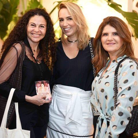 Yara Figueiredo, Francine Cortes e Mônica Horta
