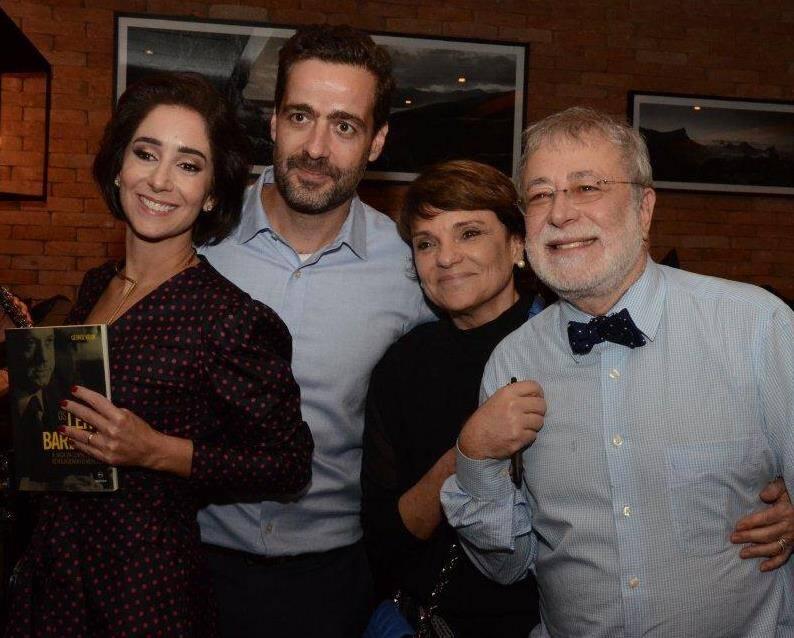 Os casais Antonia Leite Barbosa e Joaquim Saboia - Heloísa Magalhães e George Vidor