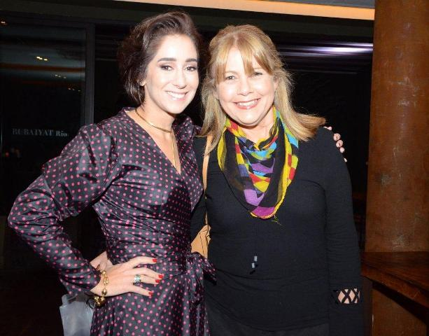 Antonia Leite Barbosa e Paula Mesquita