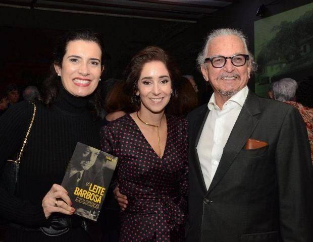 Anonia Leite Barbosa, Flávia Manahú e Antenor Barbosa Lima
