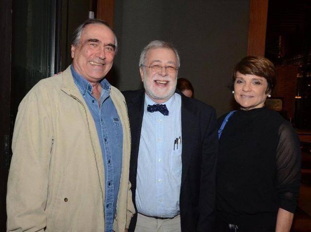 Antonio José de Almeida, George Vidor e Heloisa Magalhães