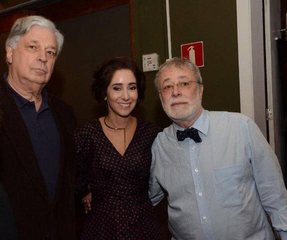 José Luiz Alqueres e Antonia Leite Barbosa e George Vidor