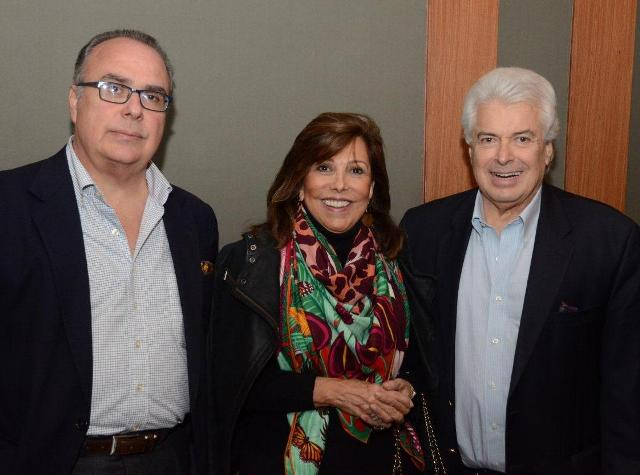 Carlos Leal, Anna Luiza Rothier e João Marcos Mendes de Souza