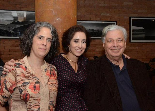 Carol Engel, Antonia Leite Barbosa e José Luiz Alqueres