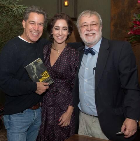 Luiz Calainho, Antonia Leite Barbosa e George Vidor