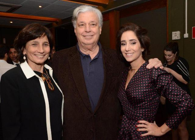 Esther Lima, José Luiz Alqueres e Antonia Leite Barbosa