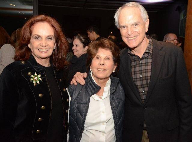 Hecilda Fadel, Sueli e Ricardo Stambowsky