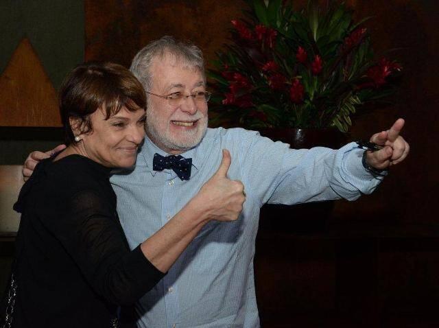 Heloisa Magalhães e George Vidor