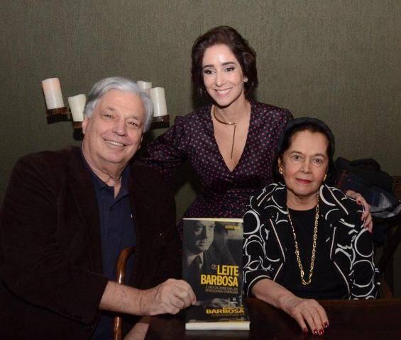 Jose Luiz Alquéres , Antonia e Sylvia Leite Barbosa