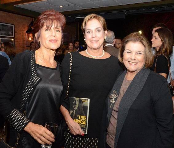 Lucia Severiano Ribeiro, Silvinha Fraga e Anna Maria Ramalho
