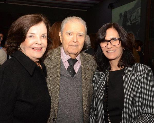 Rosa Maria, Ruy Barreto e Kátia Leite Barbosa