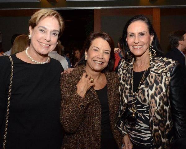 Silvinha Fraga, Angela Brant e Betty Pinto Guimarães