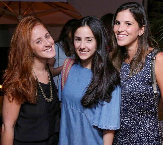 Cecília Geyer, Maria Antônia Ferraz e Francesca Malzoni