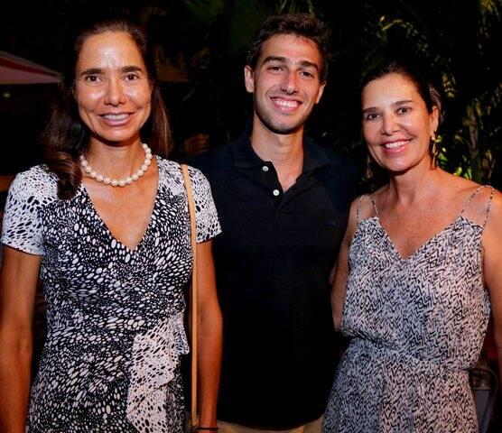 Alice Mattos, Luis Felipe Pereira da Silva e Suzel Rosman