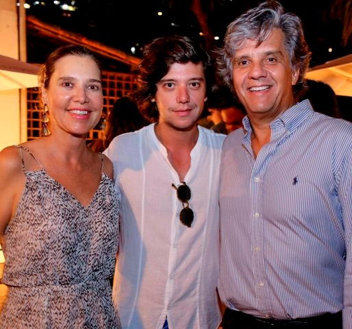 Suzel, Pedro e Eduardo Rosman