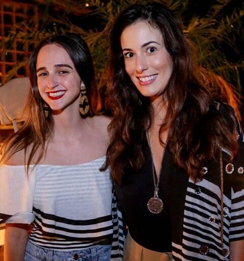 Isabel Teixeira de Mello e Isabel Taunay
