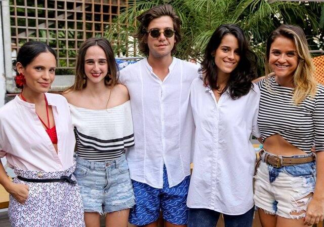 Gisela Pecego, Isabel Teixeira de Mello, Pedro Rosman, Valentina Falk e Maria Teixeira de Mello