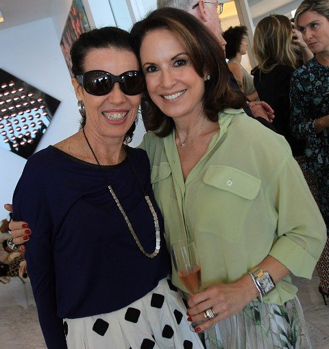 Zizi Ribeiro e Regina Martelli