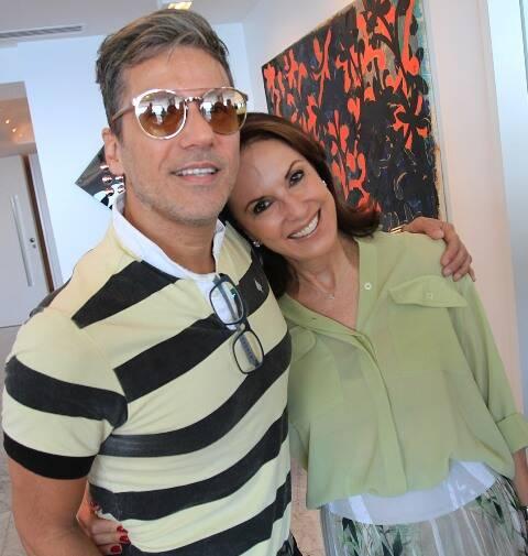 Marcelo Faustini e Regina Martelli
