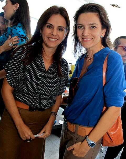 Geisa Rabello e Melissa Januzzi