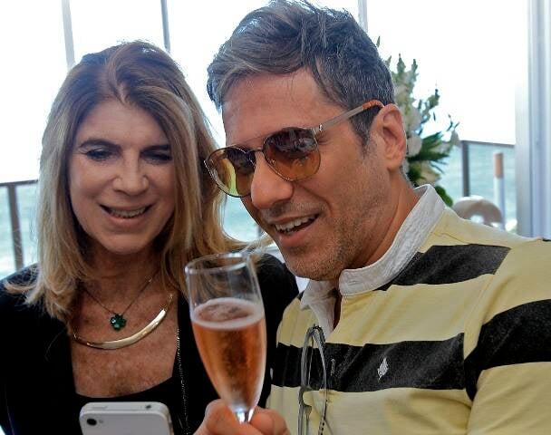 Mirian Kimelblat e Marcelo Faustini
