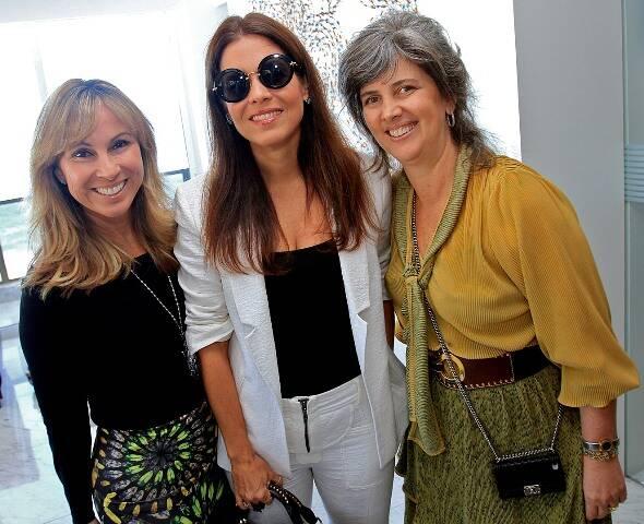 Andréa Rudge, Ângela Hall e Kika Gama Lobo