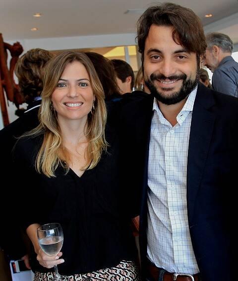Natália e Bernardo Aragão