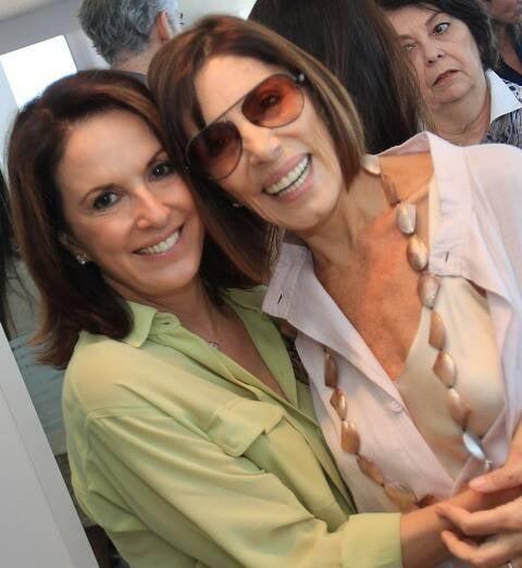 Regina Martelli e Mila Moreira