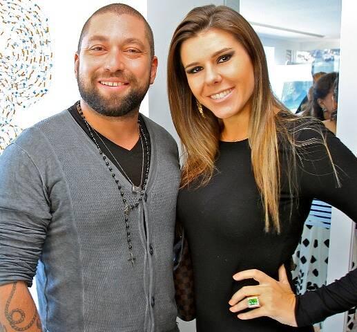 Tarcísio Menezes e Leandra Schmidt