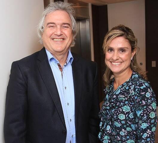 David Zylberman e Ana Paula Júdice