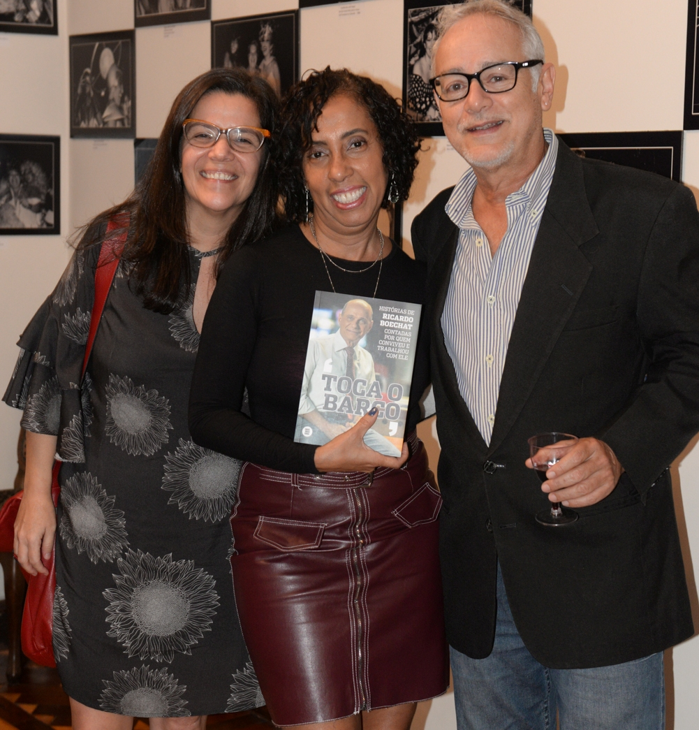 Adriana Barsotti, Rosangela Honor e Ronaldo Herdy /Foto: Cristina Lacerda