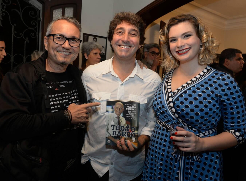 André Hippertt,  Luiz André Aller e  Mariana Erthal /Foto: Cristina Lacerda