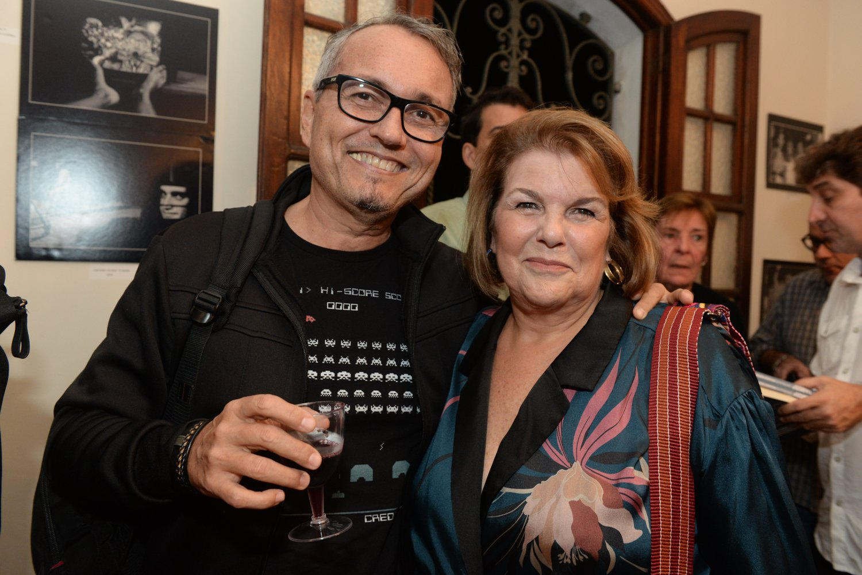 André Hippertt e Ana Maria Ramalho /Foto: Cristina Lacerda