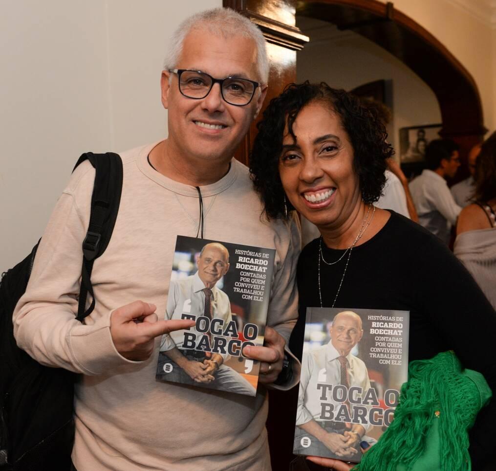Aydano André Motta e Rosangela Honor /Foto: Cristina Lacerda