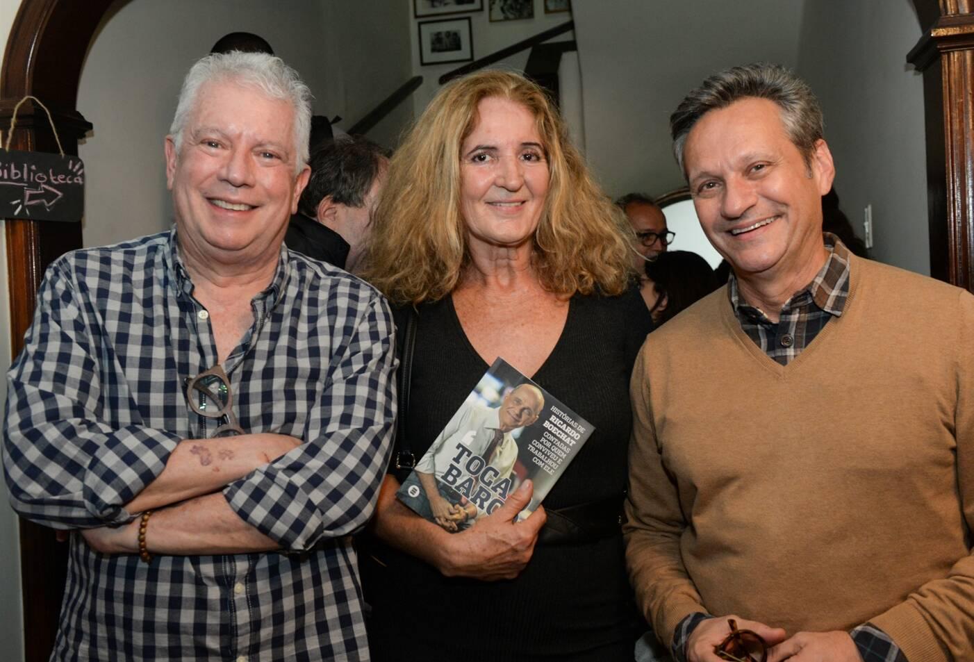 Chicô Gouvea, Simone Rodrigues e Paulo Reis /Foto: Cristina Lacerda