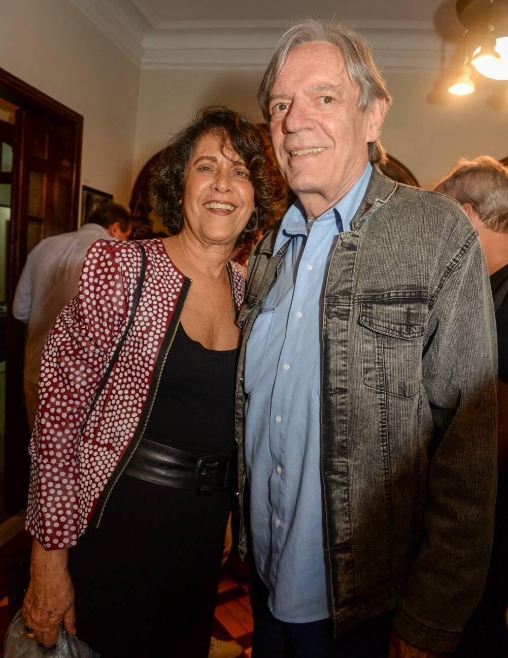 Eliana e Chico Caruso /Foto: Cristina Lacerda