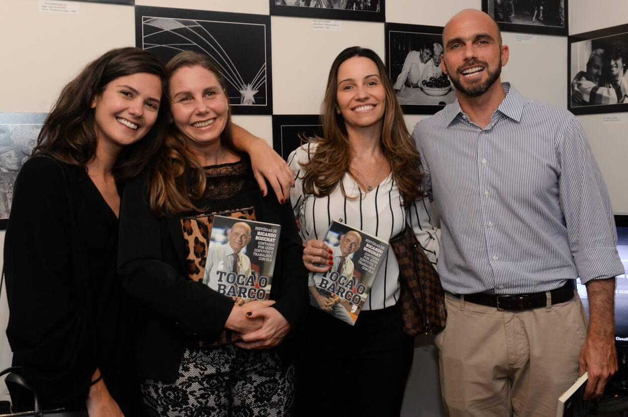 Família Boechat, Cláudia, Beatriz, Paula e Rafael/Foto: Cristina Lacerda