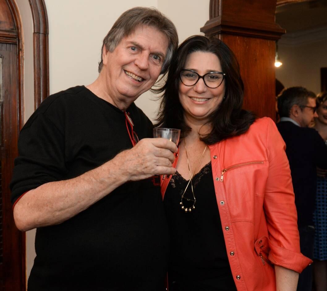 Maurício Menezes e Ana Claudia Guimarães /Foto: Cristina Lacerda