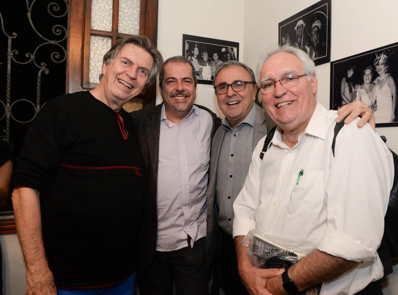 Mauricio Menezes, Chico Otávio, José Carlos Tedesco e Alfredo Guarichi/Foto: Cristina Lacerda