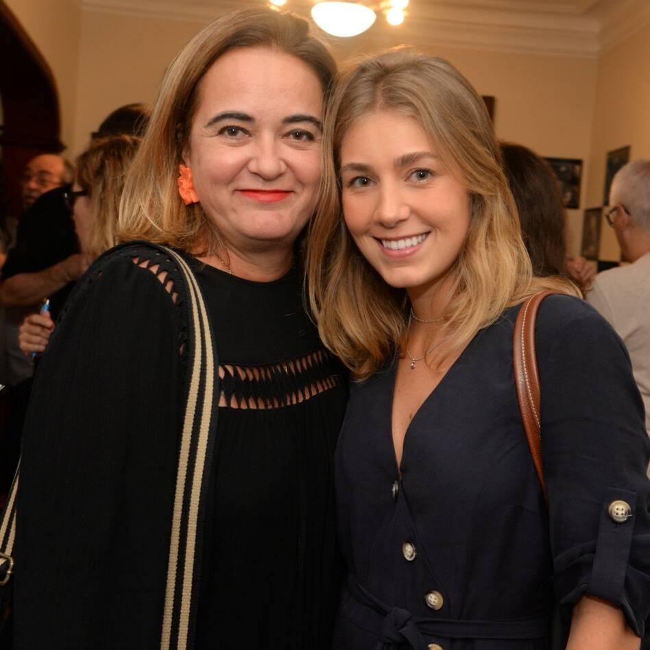 Silvia Fonseca e Lara Torres /Foto: Cristina Lacerda