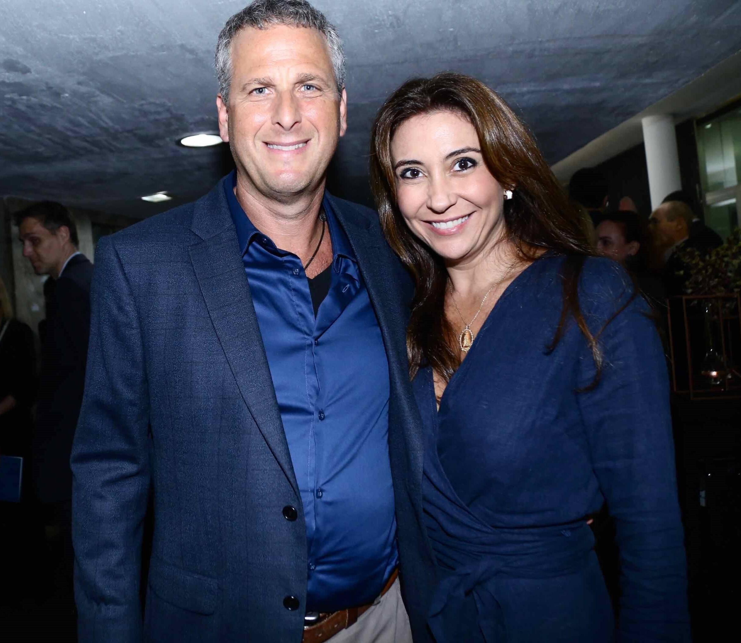 Fernando e Fabiana Guntovitch /Foto: Denise Andrade