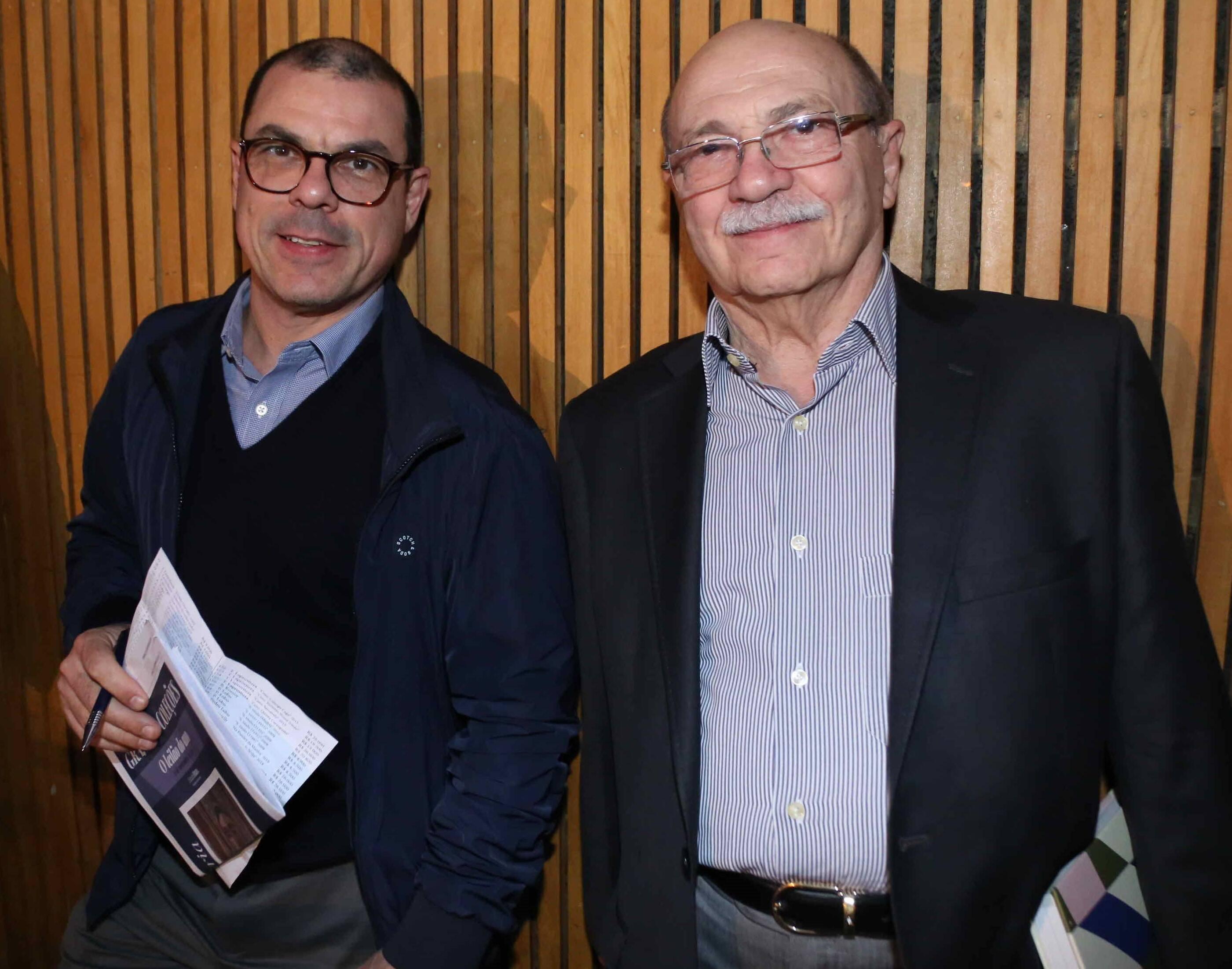 Flavio e Peter Cohn /Foto: Denise Andrade