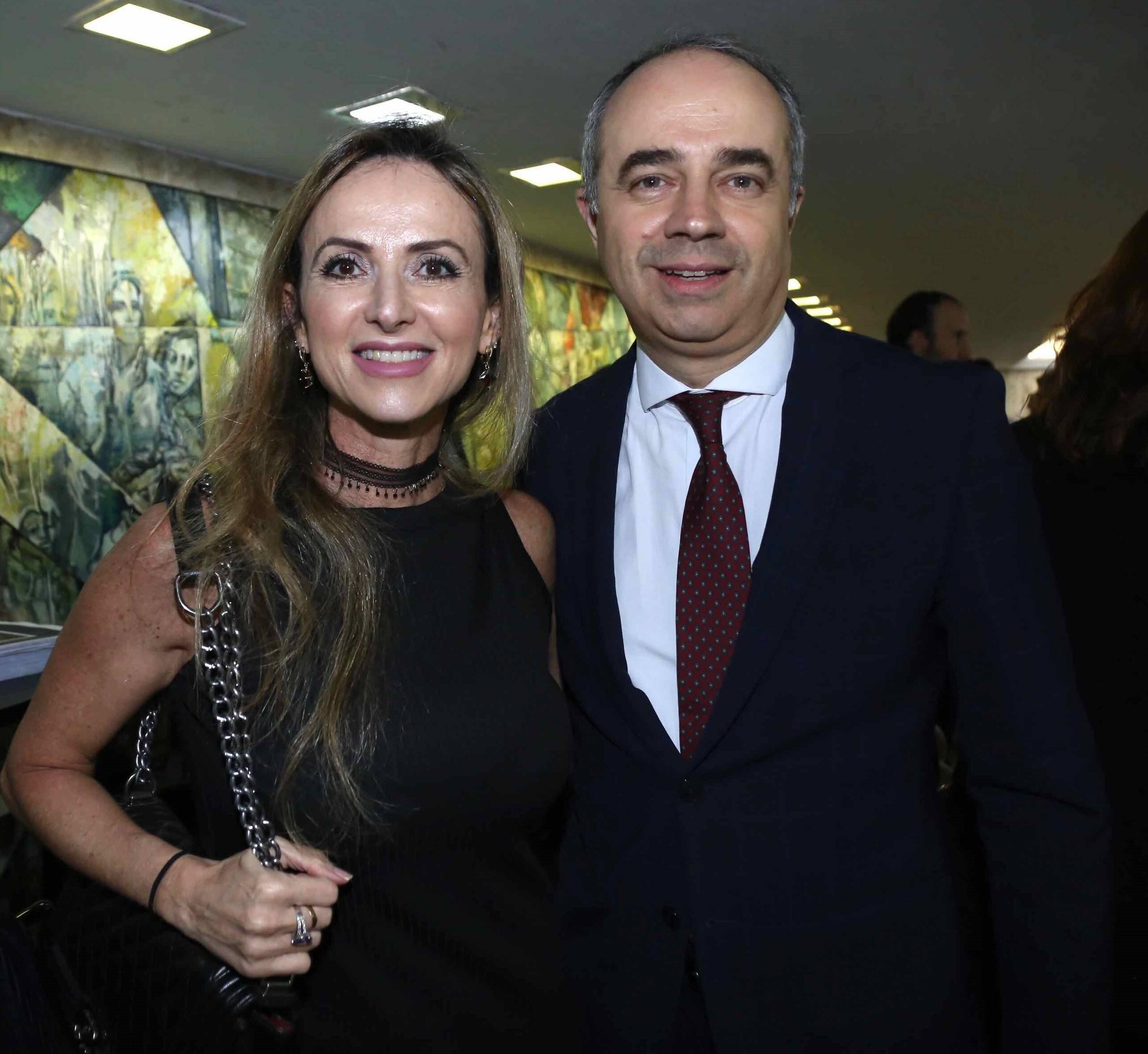 Gabi Brenman de Azevedo  e Evaristo Martins de Azevedo /Foto: Denise Andrade