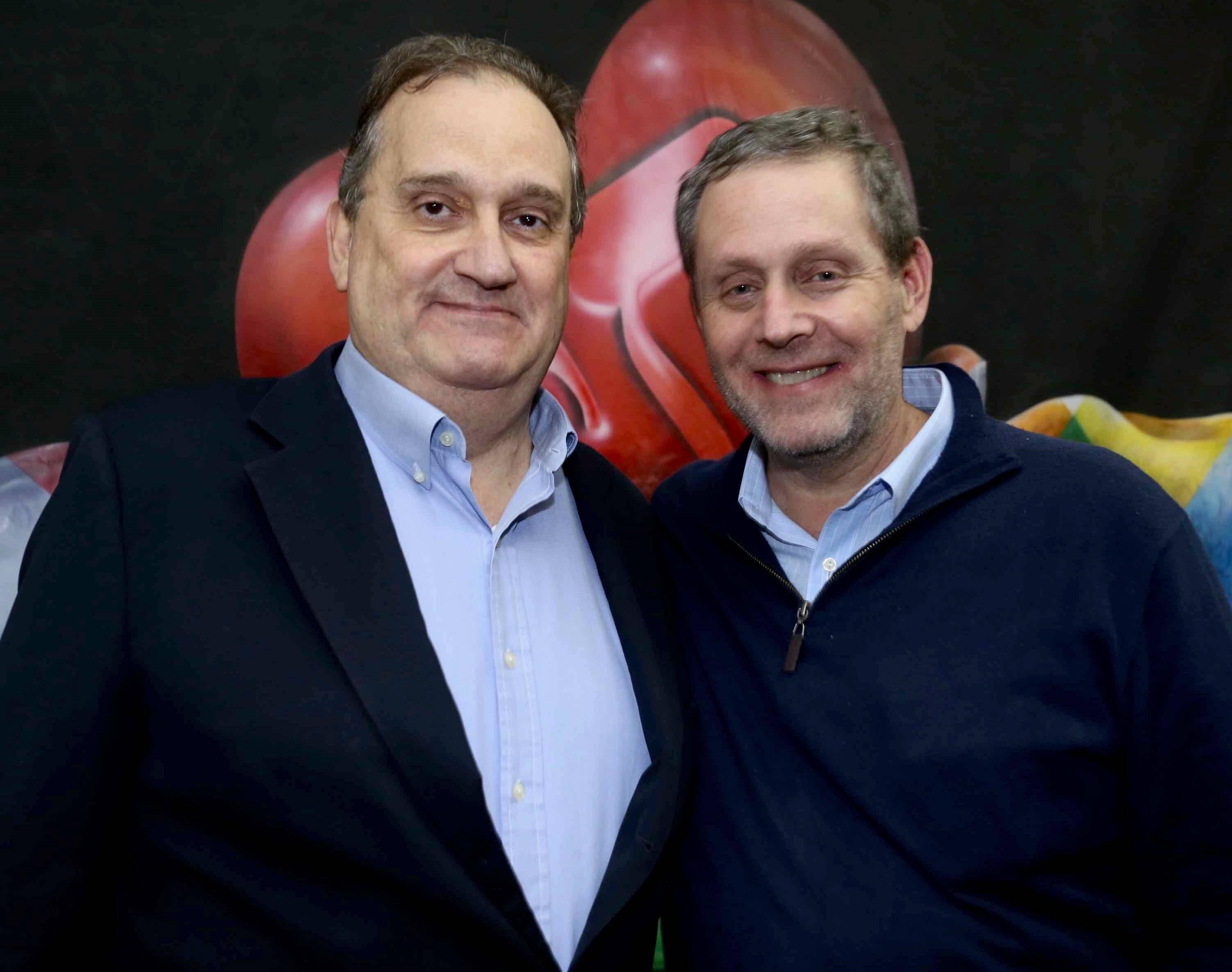 James Lisboa e Eduardo Milner /Foto: Denise Andrade