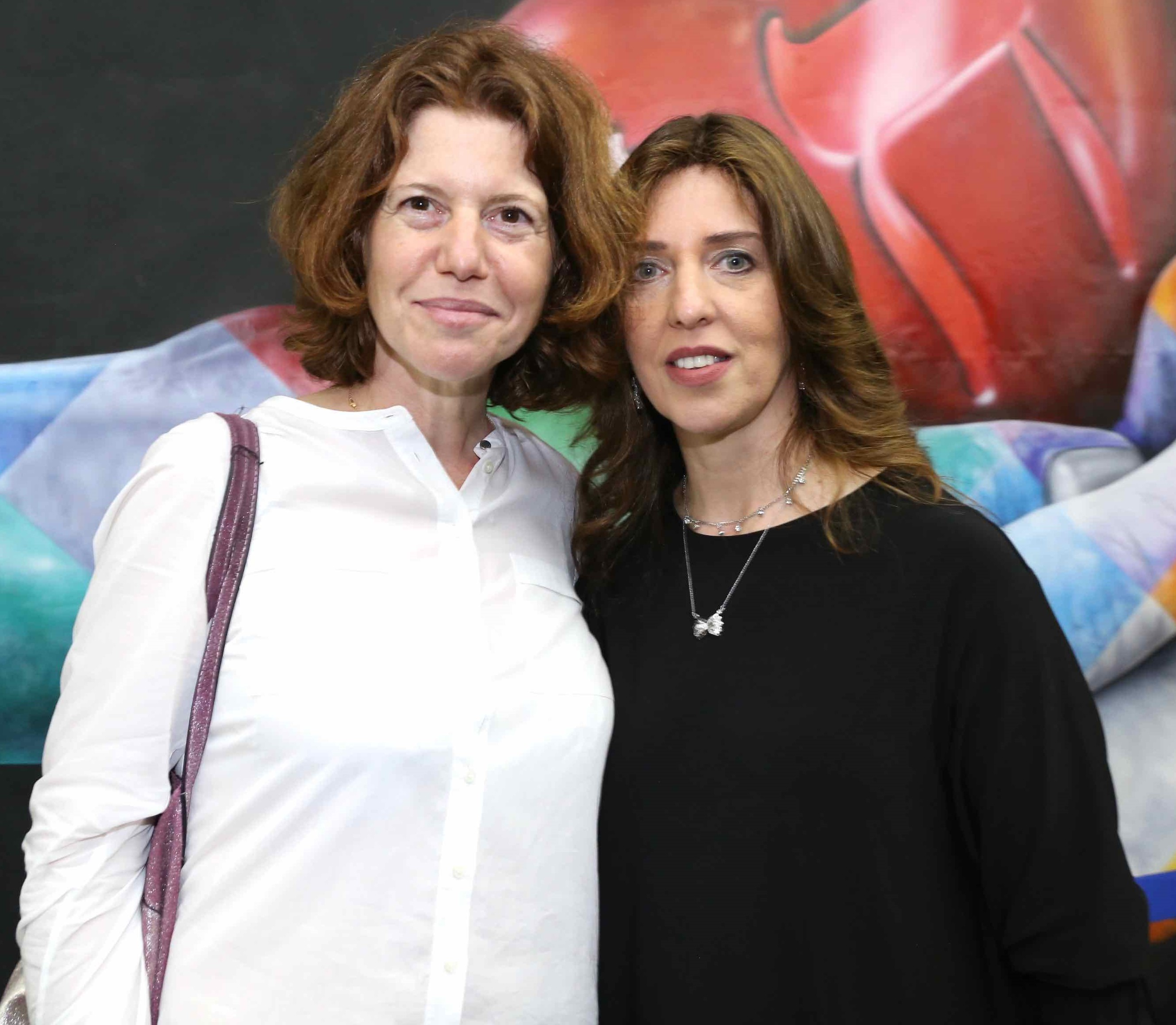 Jeanne Klesta e Chana Alpern /Foto: Denise Andrade